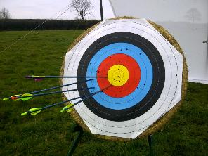 Corporate Archery experience days Malvern