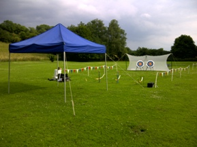 Hire Archery in the Peak District