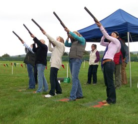 Laser Clay Pigeon Shooting Hire