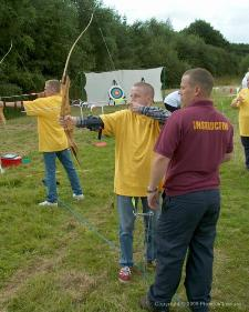 Corporate Archery Classes In Hampshire