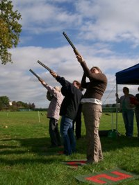 Lazer Clay Shooting Activity