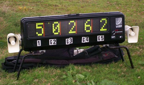 Laser Clay Pigeon Shooting Scoreboard
